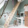 attic room for kids