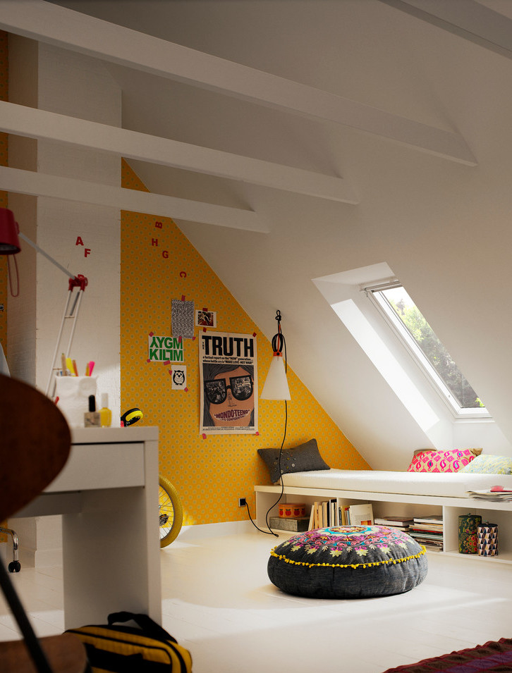 attic room teen