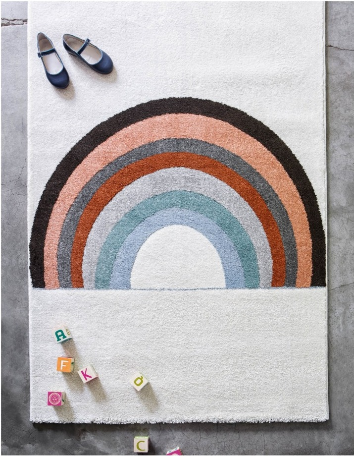 rainbow-rug kids
