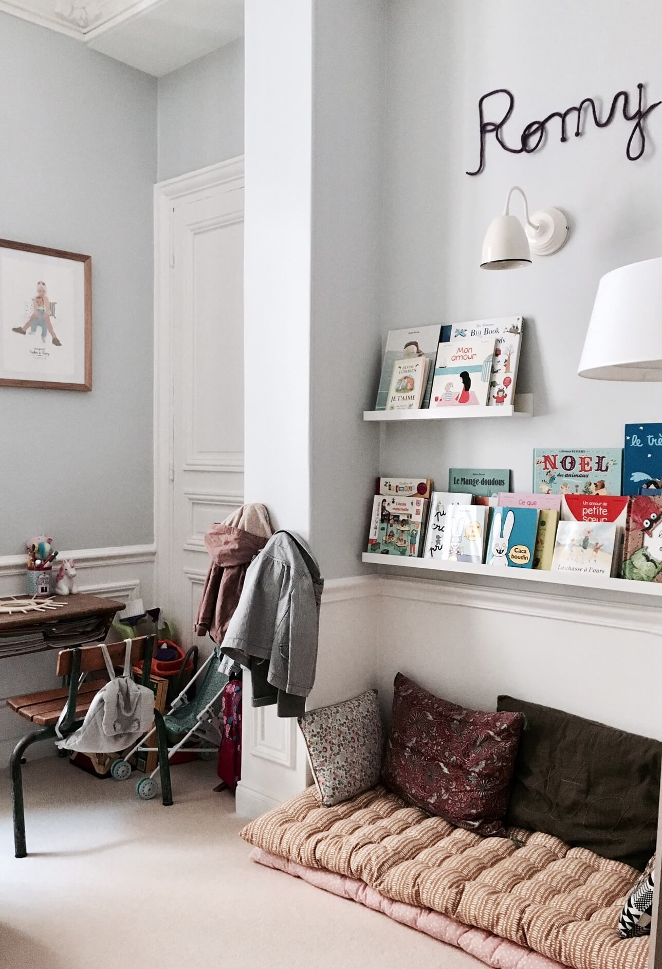 A dreamy family home in Paris
