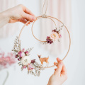 boho wall decor hoops kids