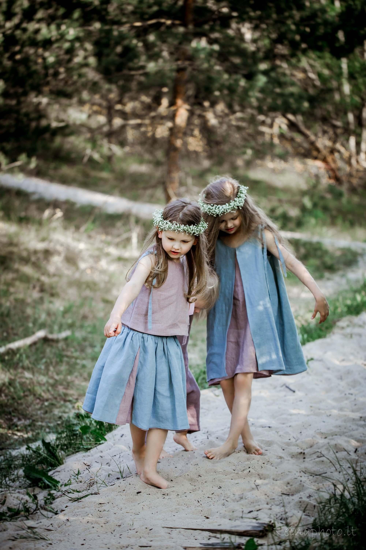 linen dress girls