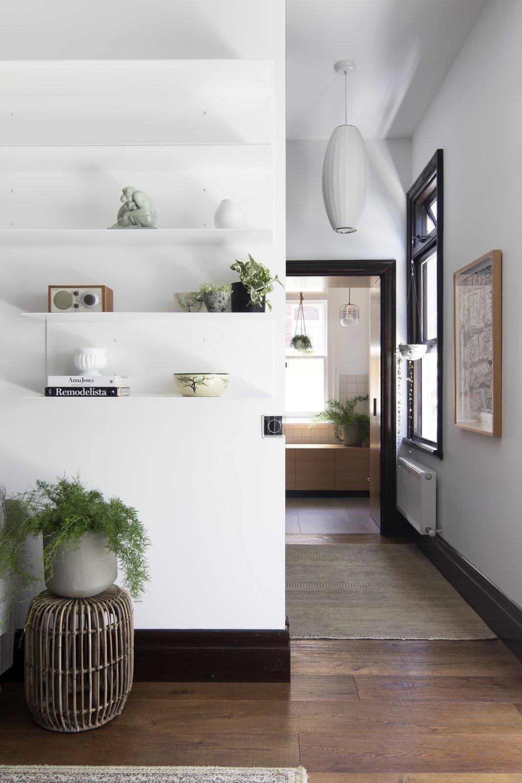 modern hallway aussie bungalow