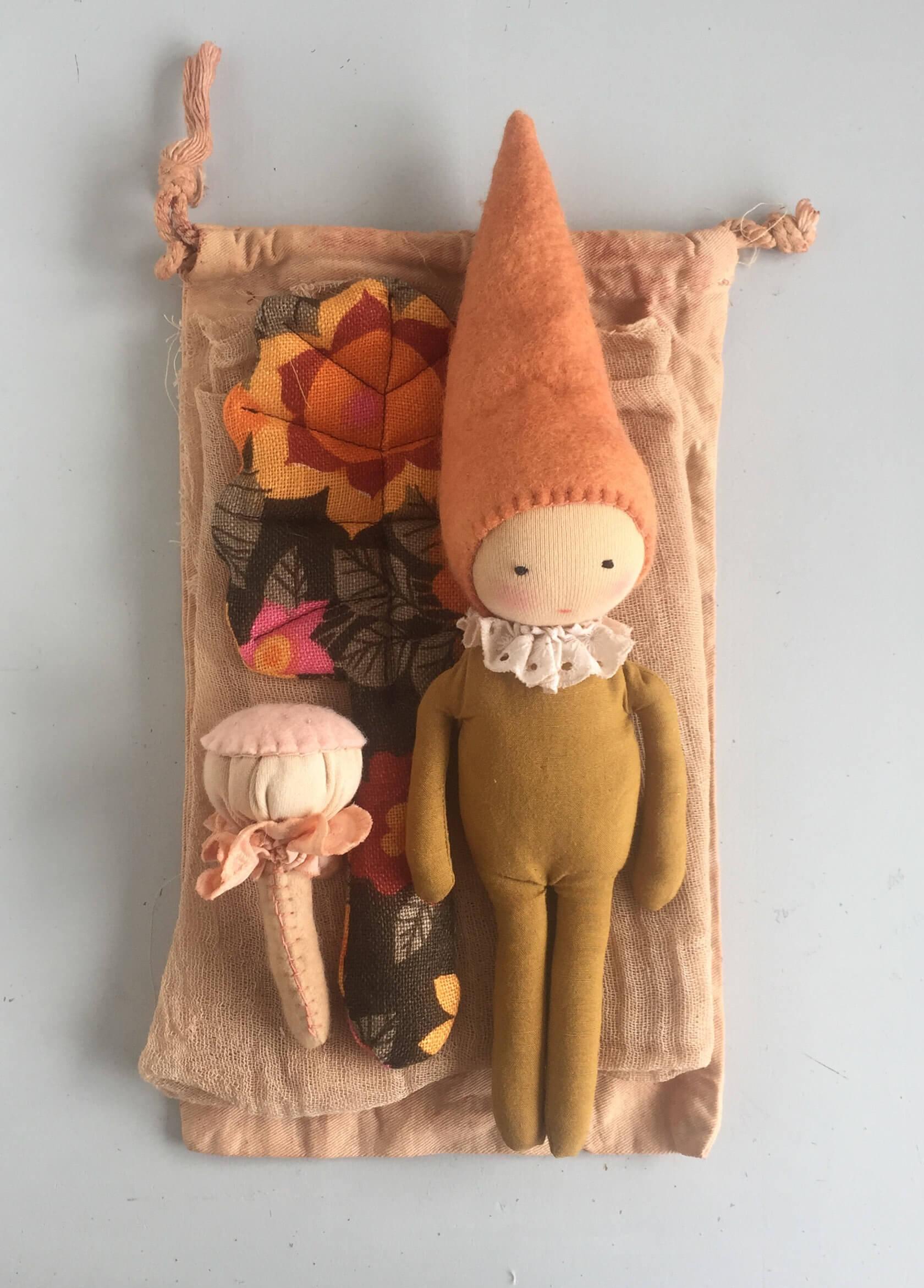 waldorf doll play set studio escargot