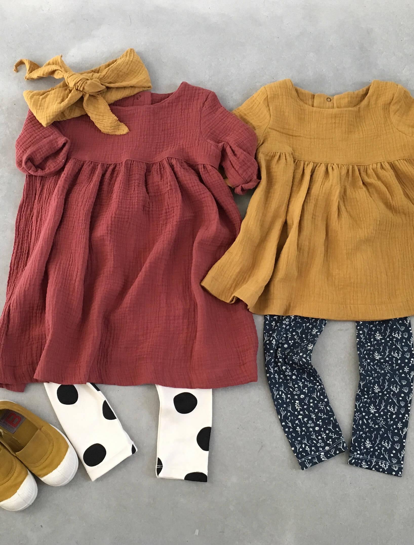 gauze cotton kids clothes
