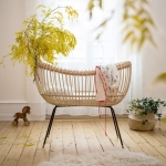 The best handmade rattan cribs