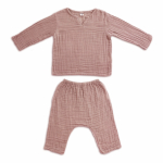 dusty pink pyjama set