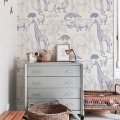 jungle wallpaper kids room