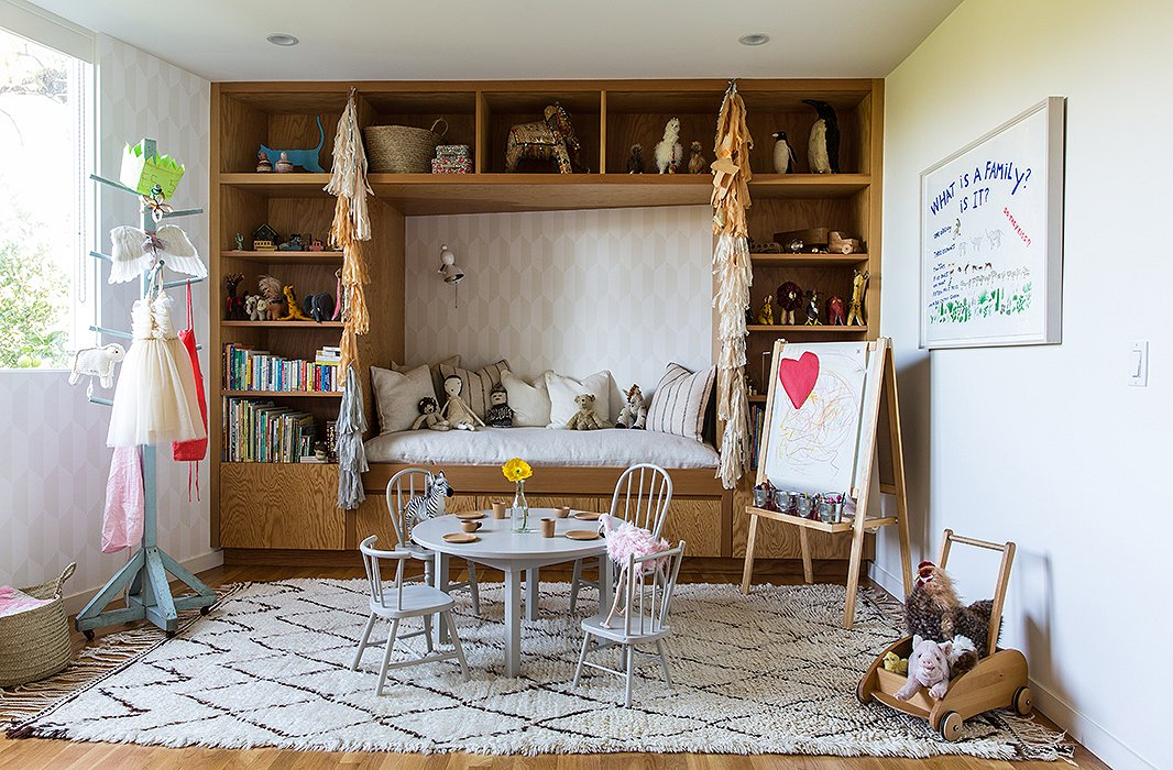 California midcentury meets effortless in this family home