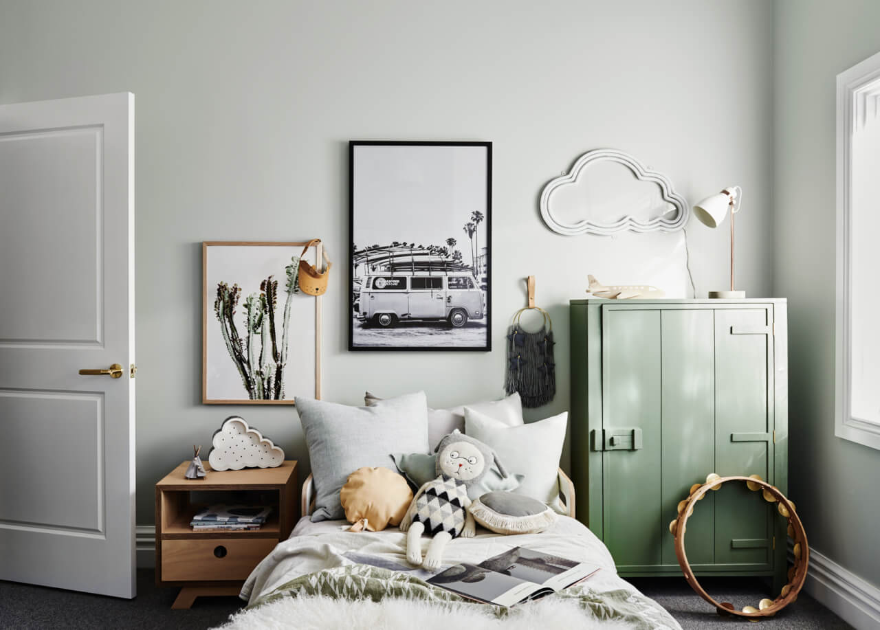Two contemporary children's rooms with flair
