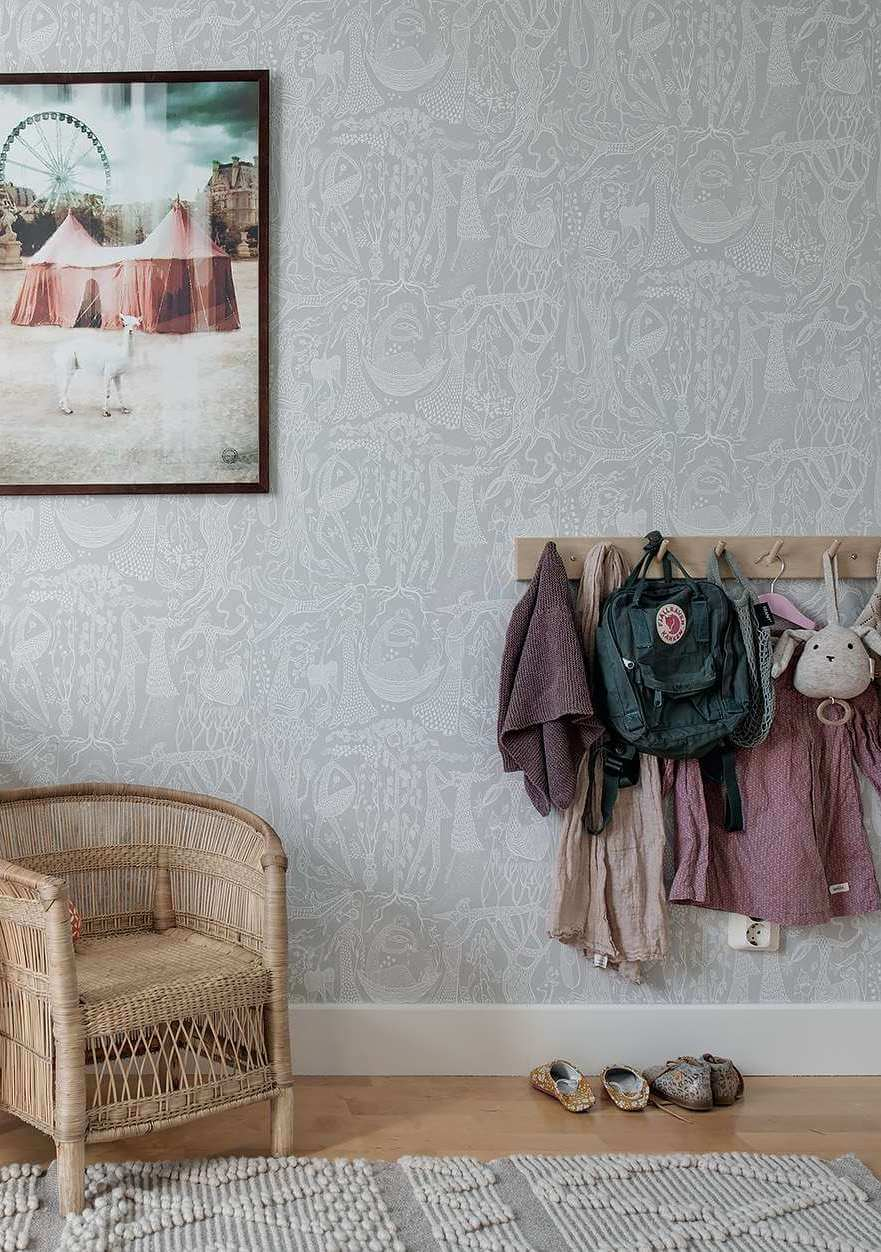 Vintage children's rooms