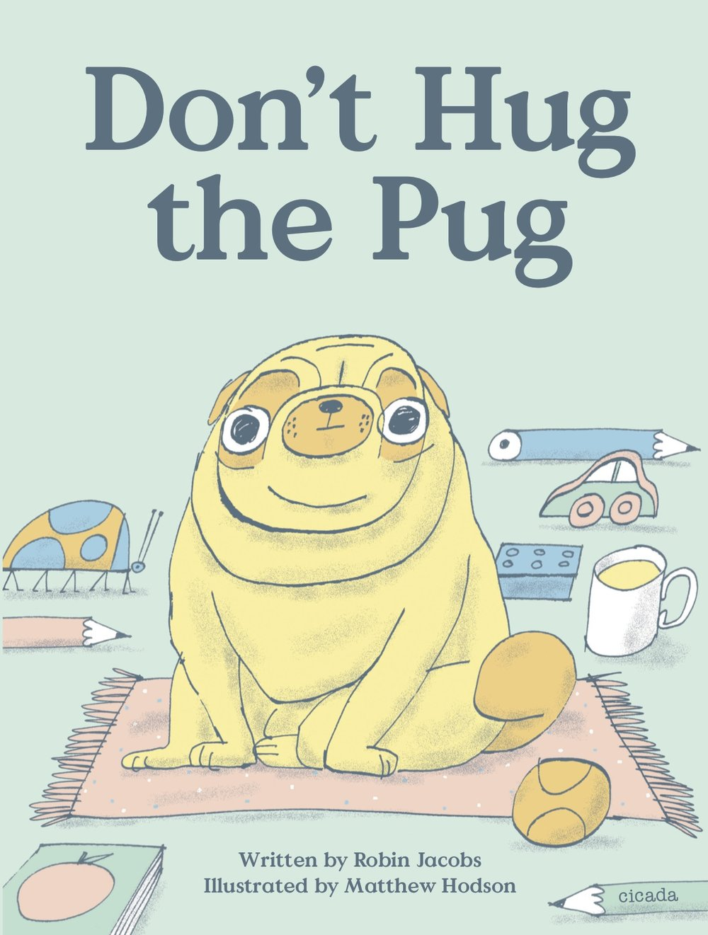 dont hug the pug