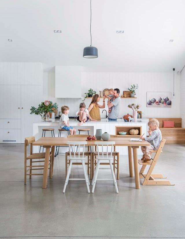 Scandinavian inspired big family home in Down Under