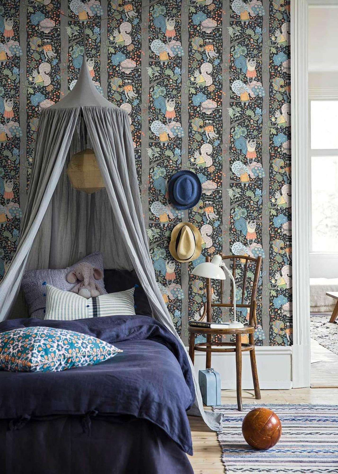 childrens room wallpaper