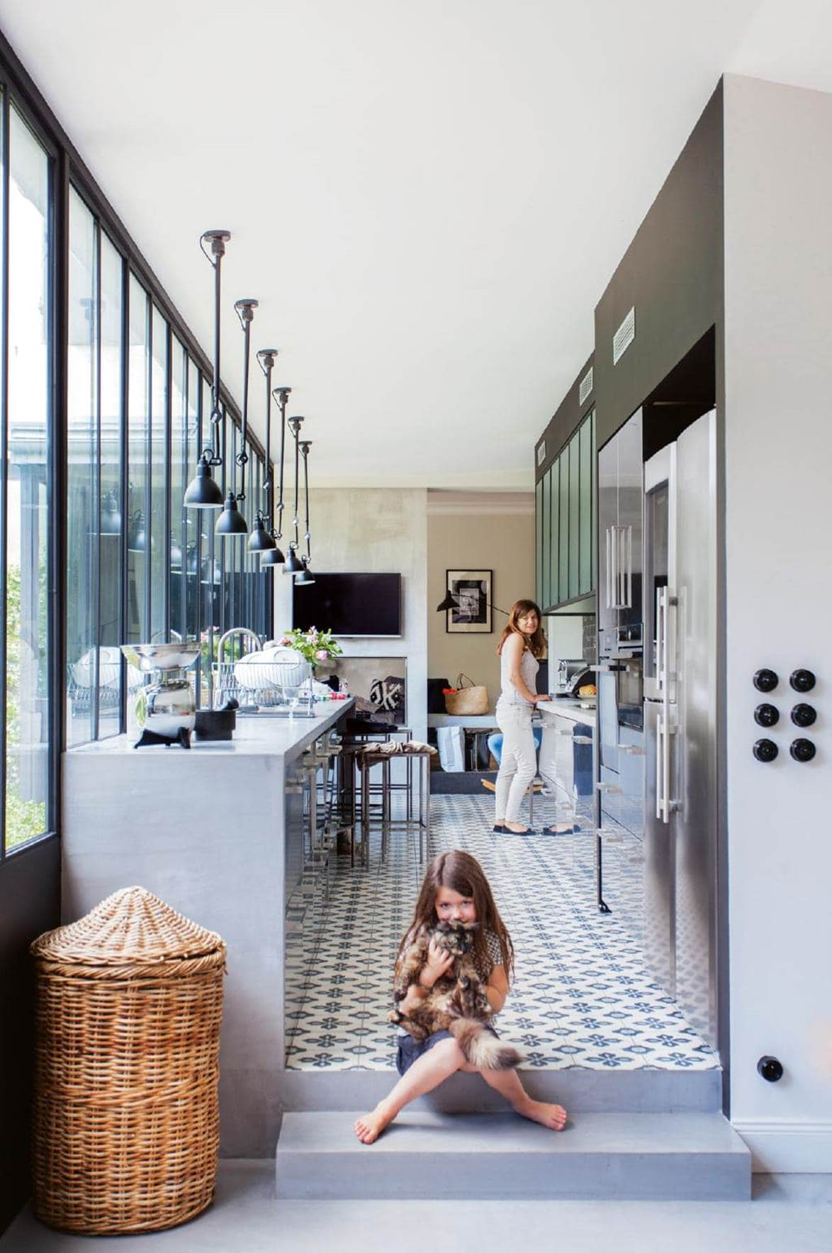 french family home