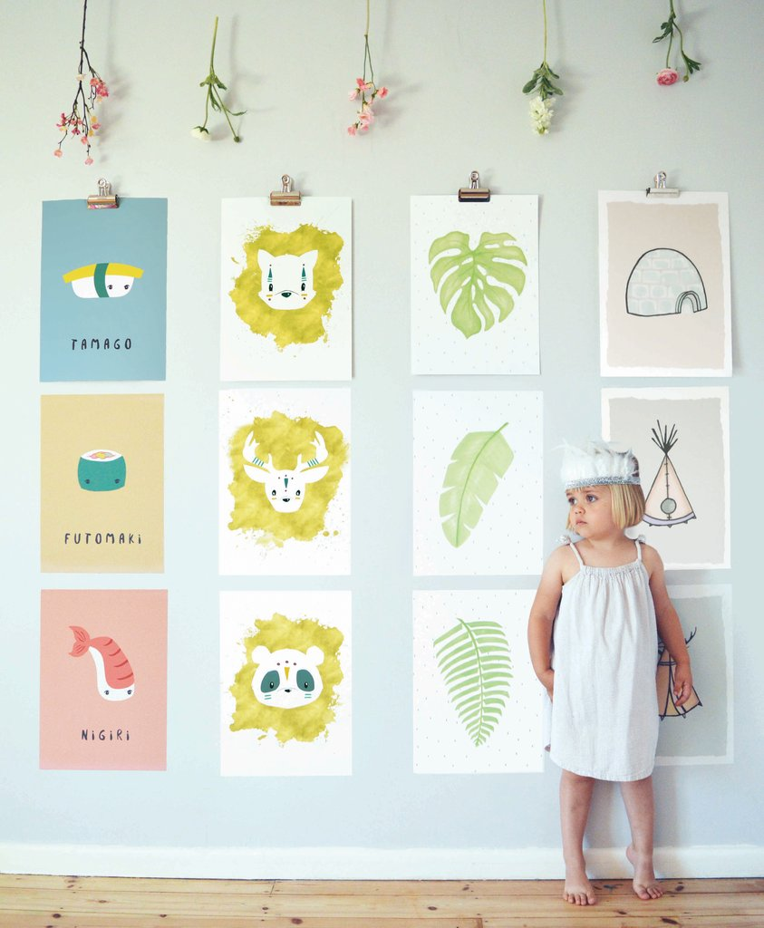 nursery design prints