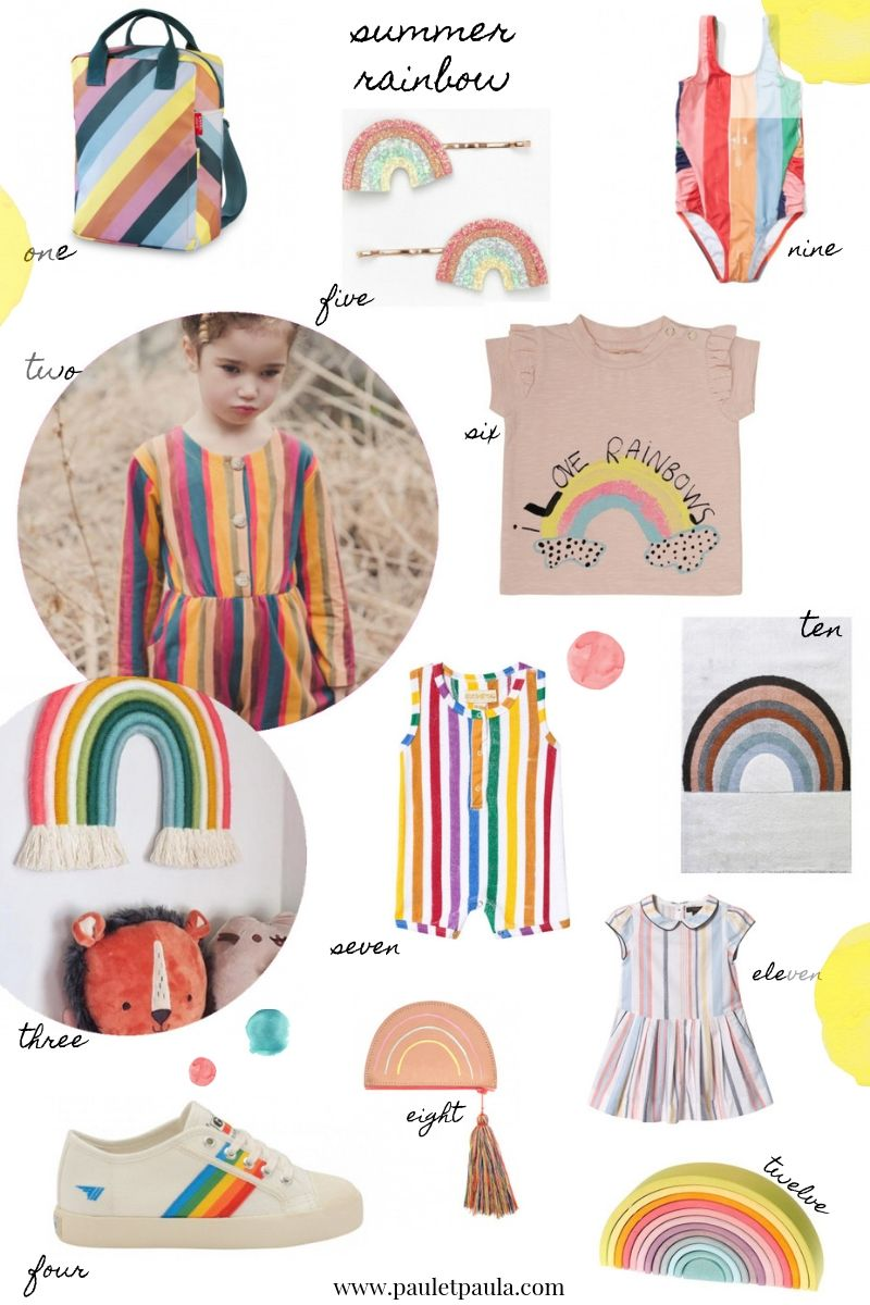 rainbow clothing kids