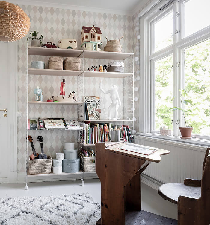 A lush and light filled family space in Gothenburg!