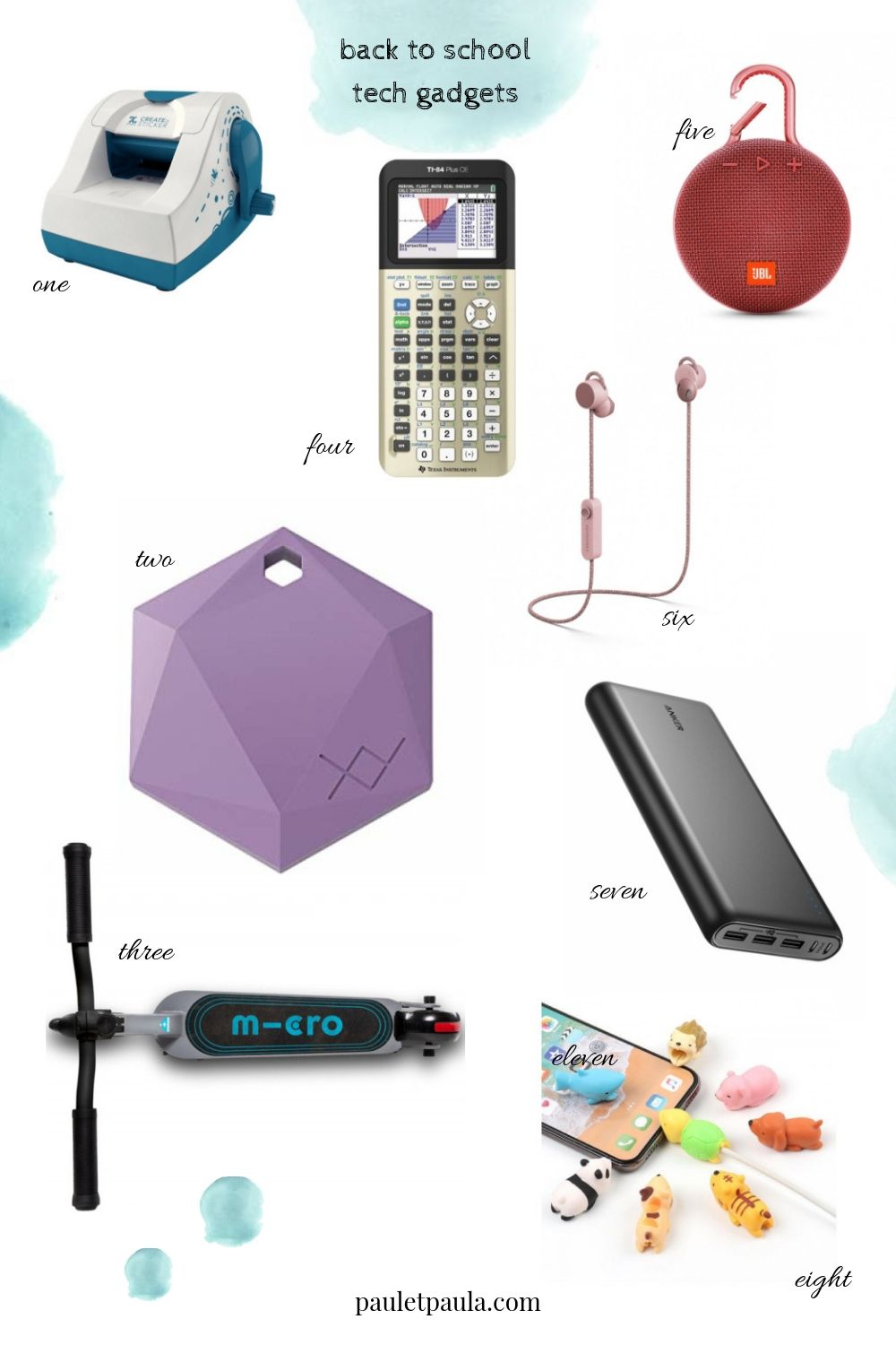 Back to School 2019 - tech gadgets!