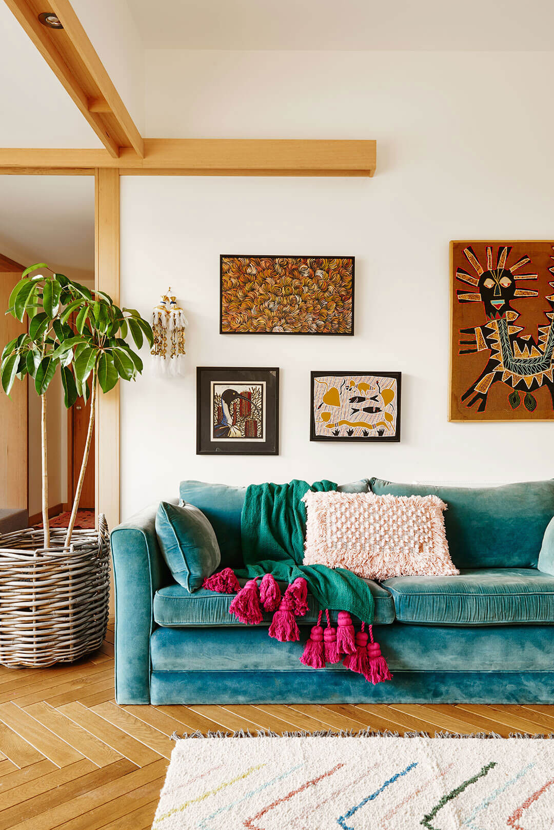 A colourful dream family home in Australia
