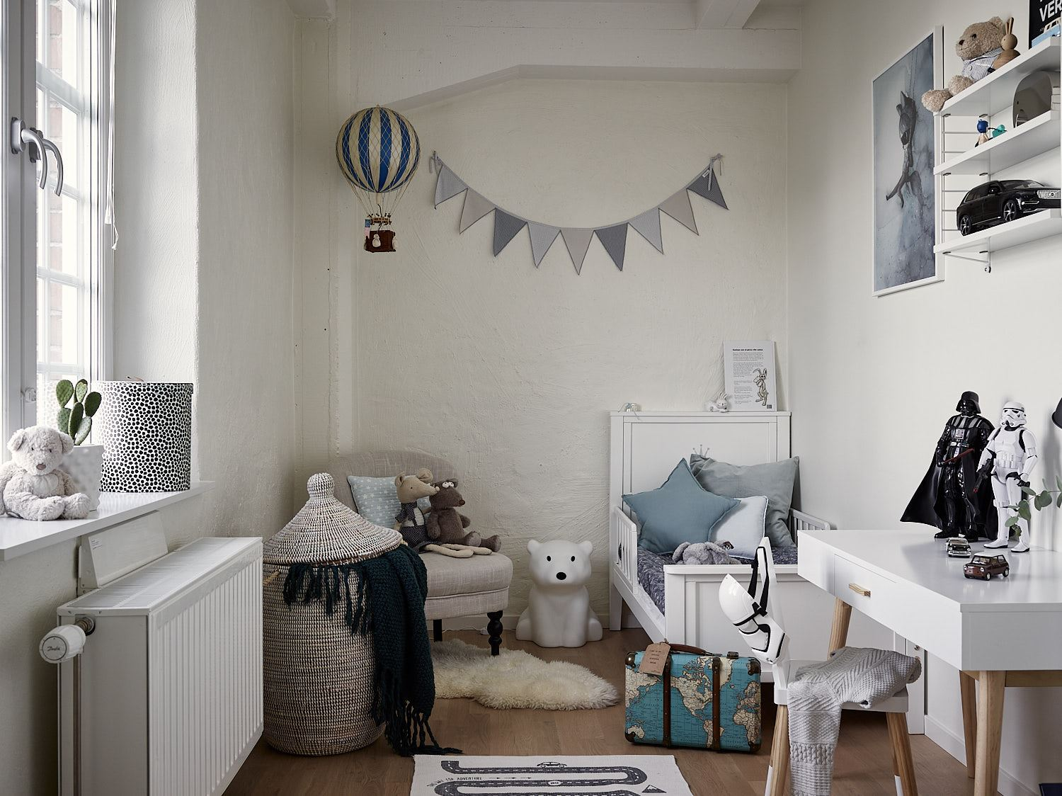 Blush children's room