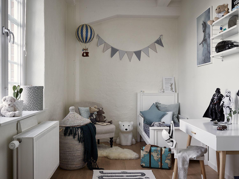 Blush children's room