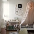 Blush children's rooms