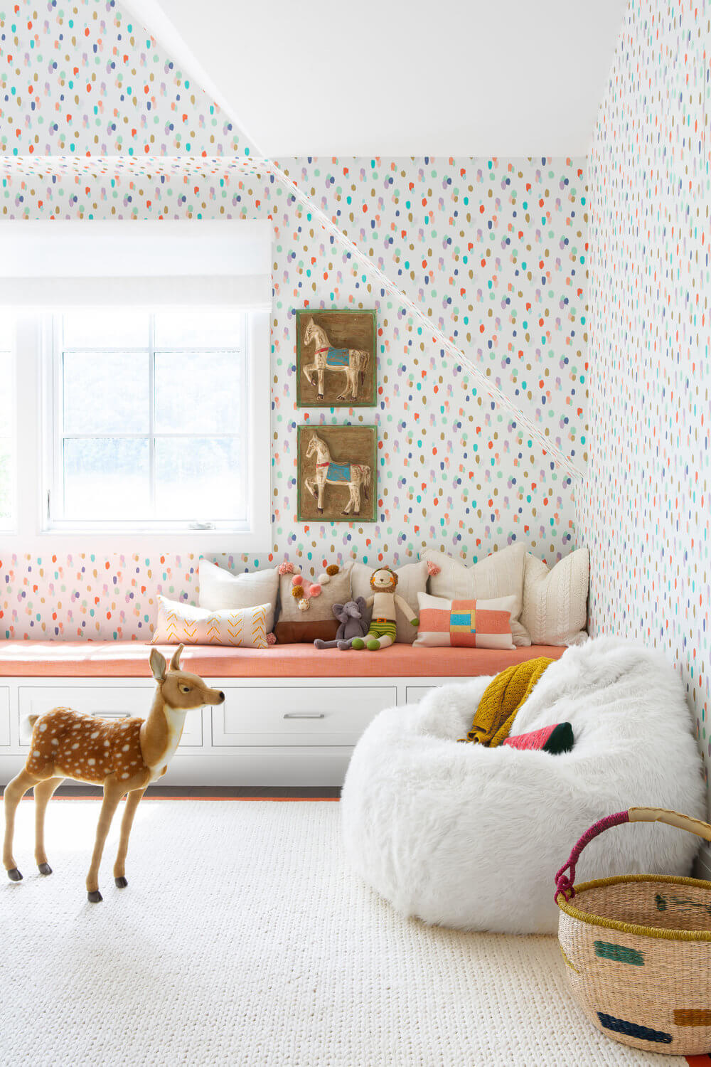 Colourful children's rooms
