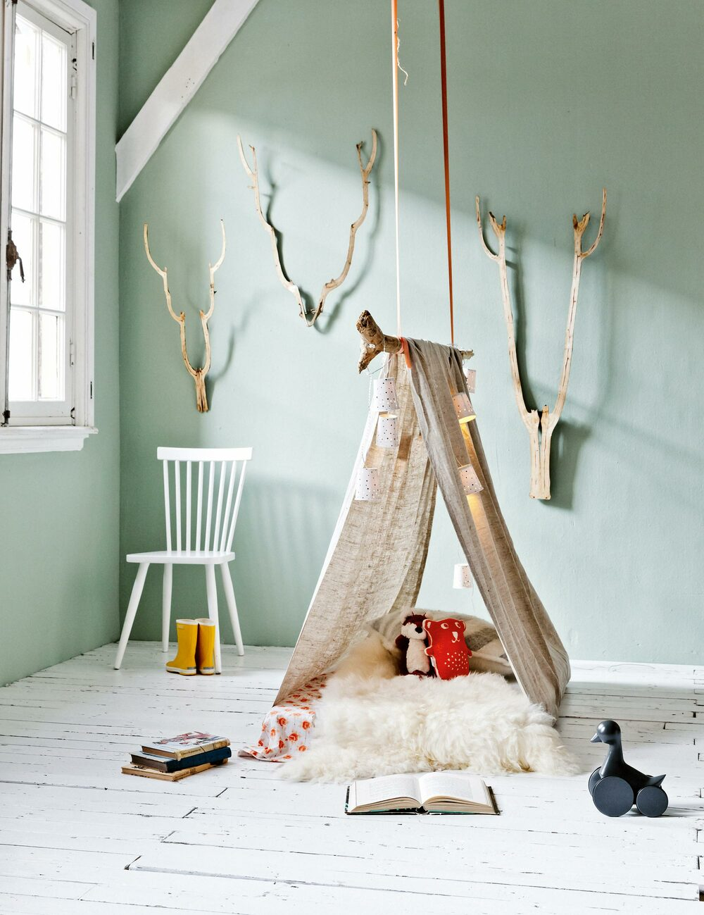kids room tent diy