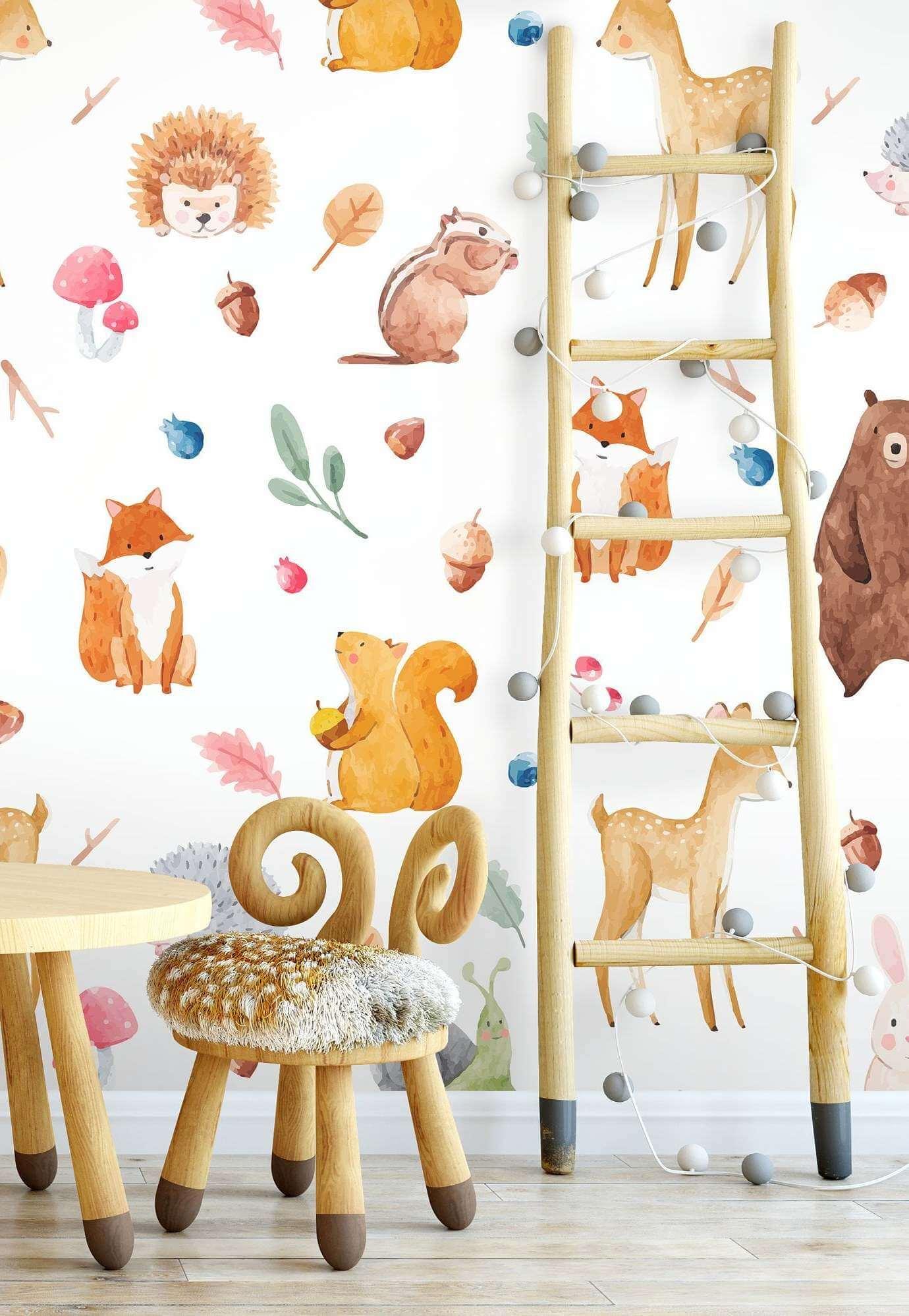 best self adhesive wallpapers kids room