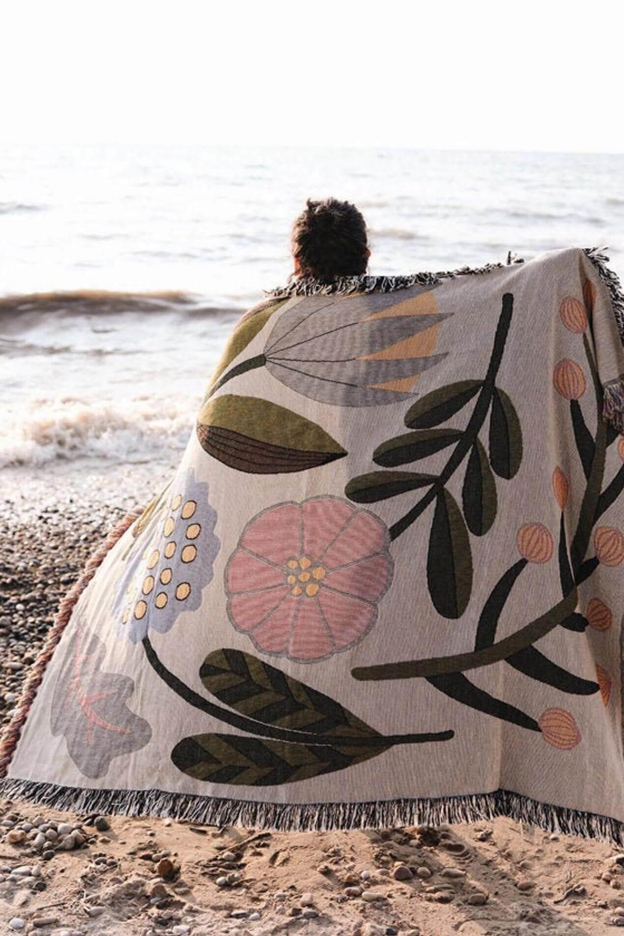 bookhou flora blanket