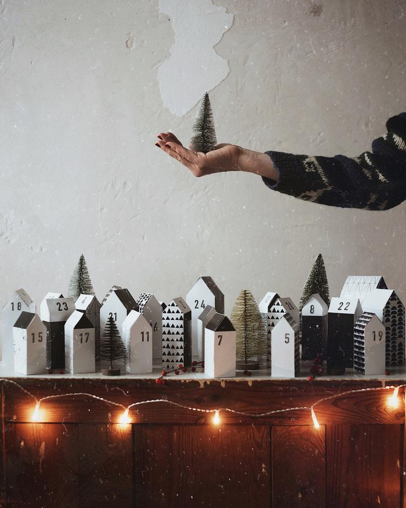 hygge village advent calendar