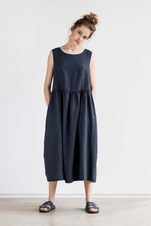 not perfect linen dress