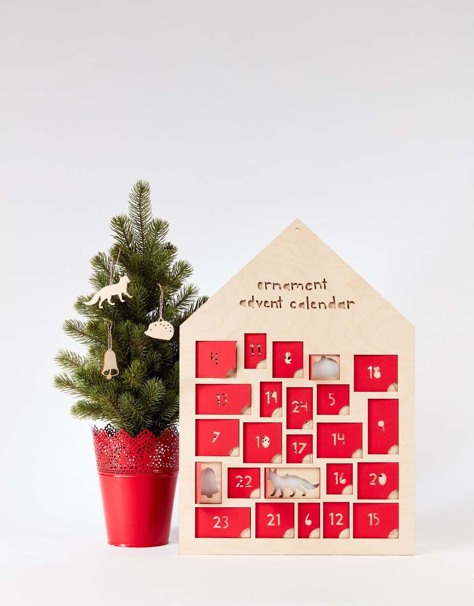 ornament advent calendar