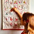 personalised fabric advent calendar