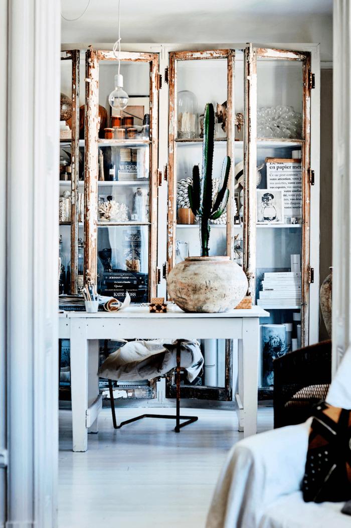 scandinavian living room cabinet