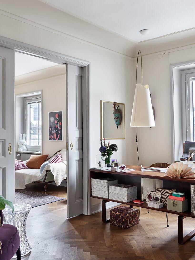Architect-designed family apartment