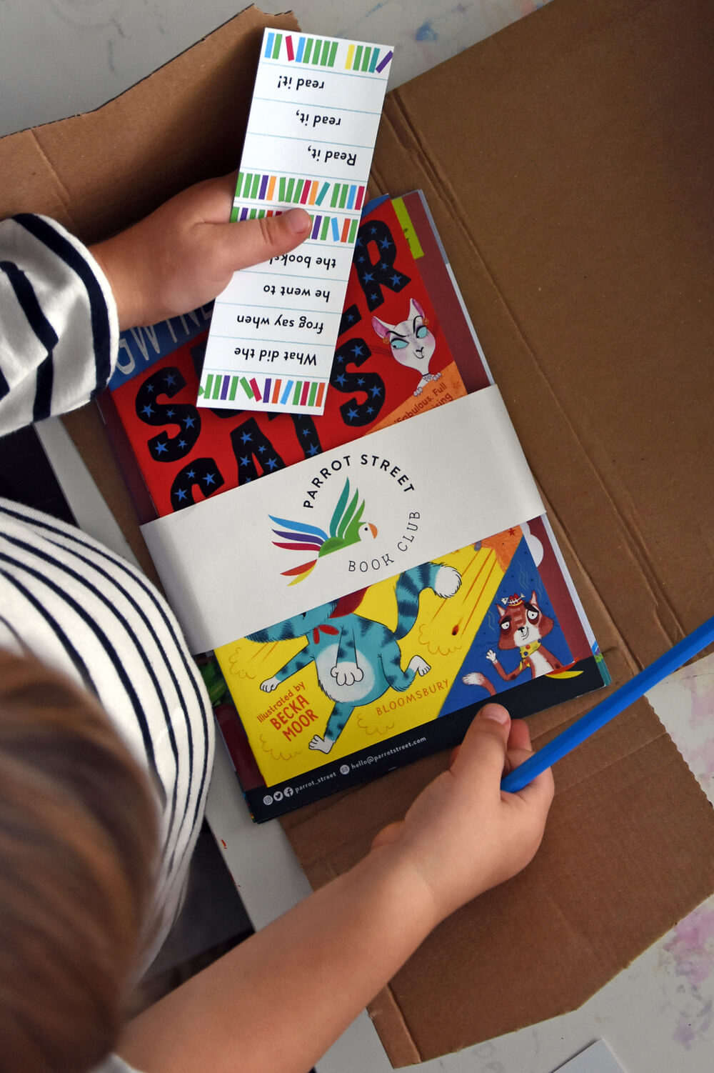 Book subscription for children