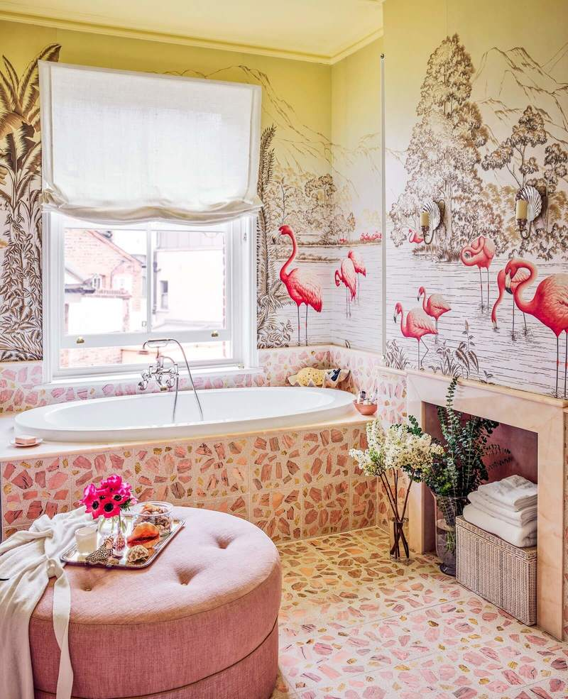 De Gournay family home in London