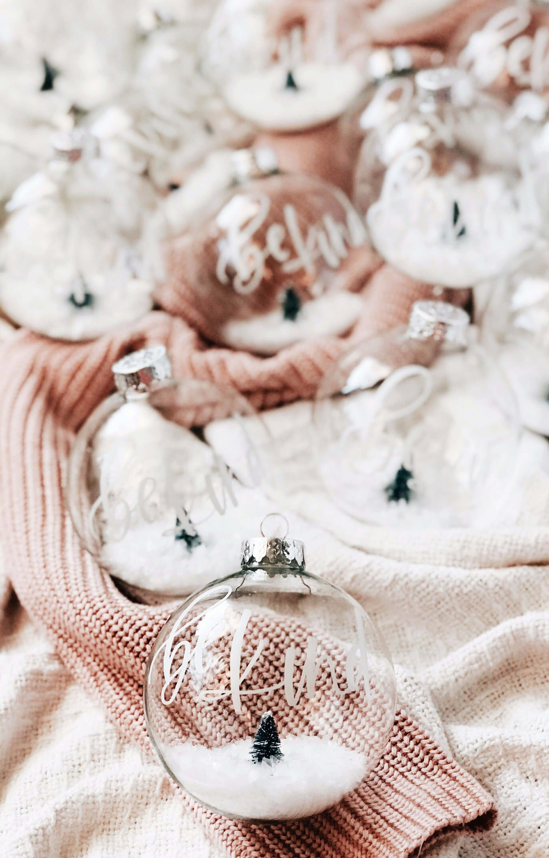 Personalized Christmas Ornament Name