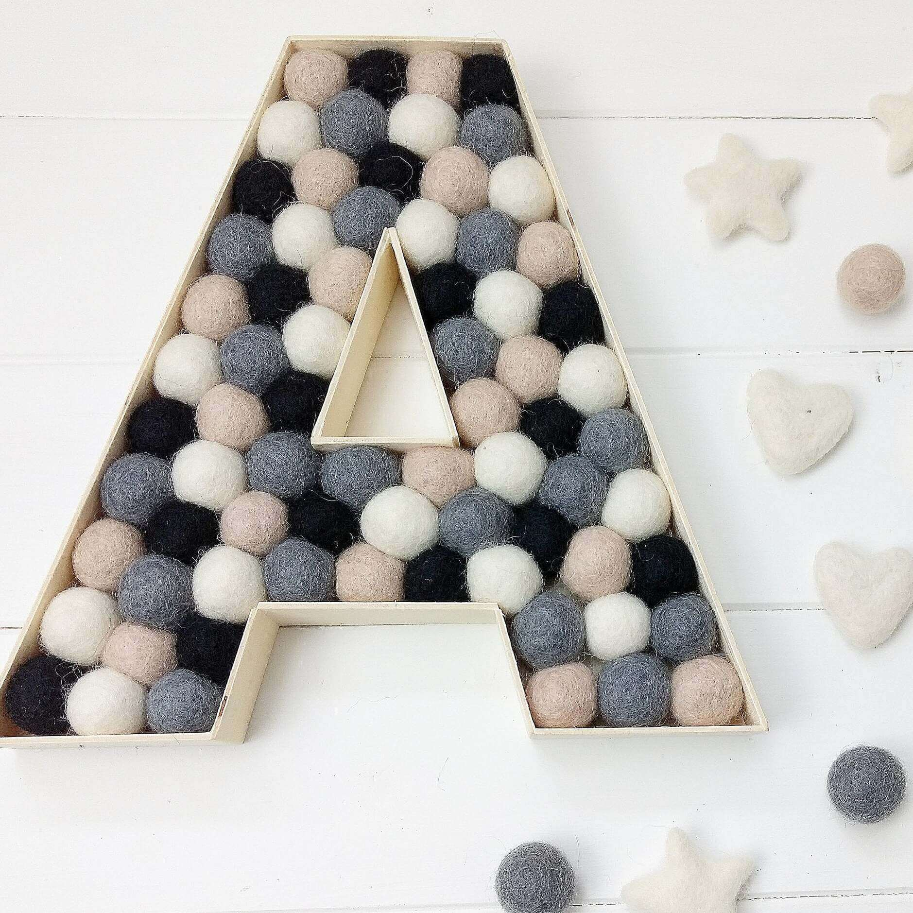 custom Wooden letter nursery decor