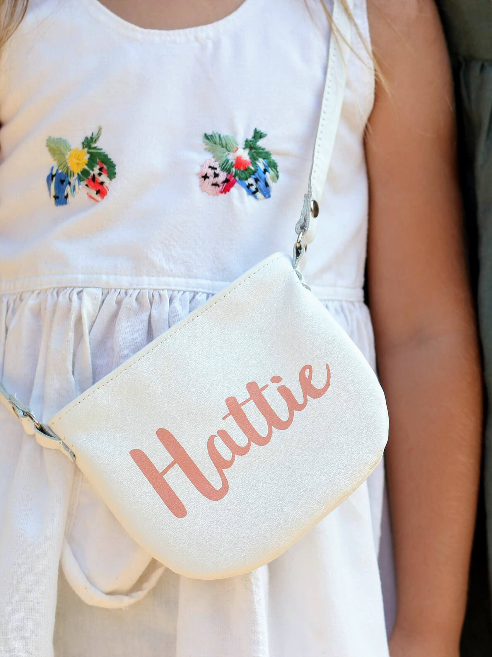 personalised toddler purse