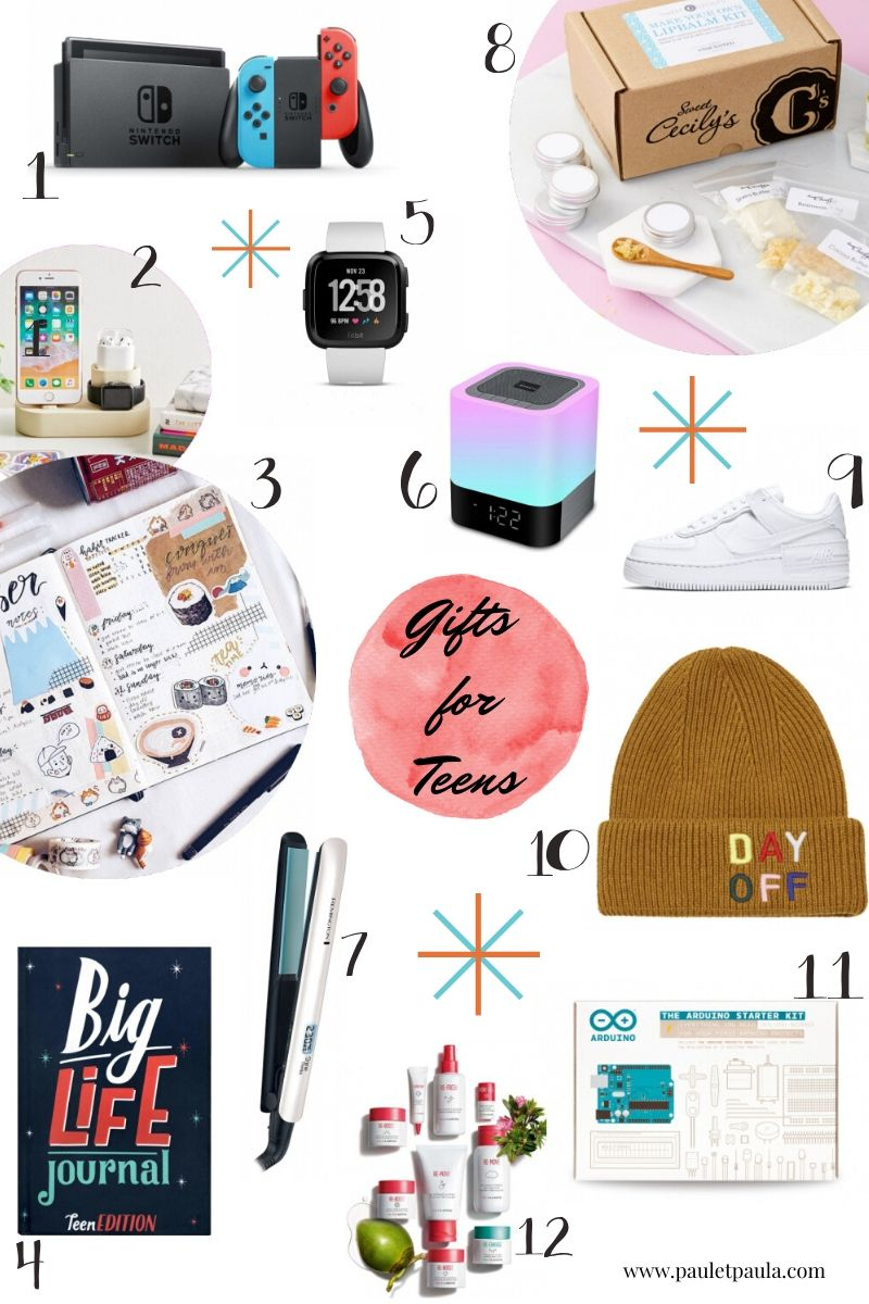Gift Guides 2019 – teens
