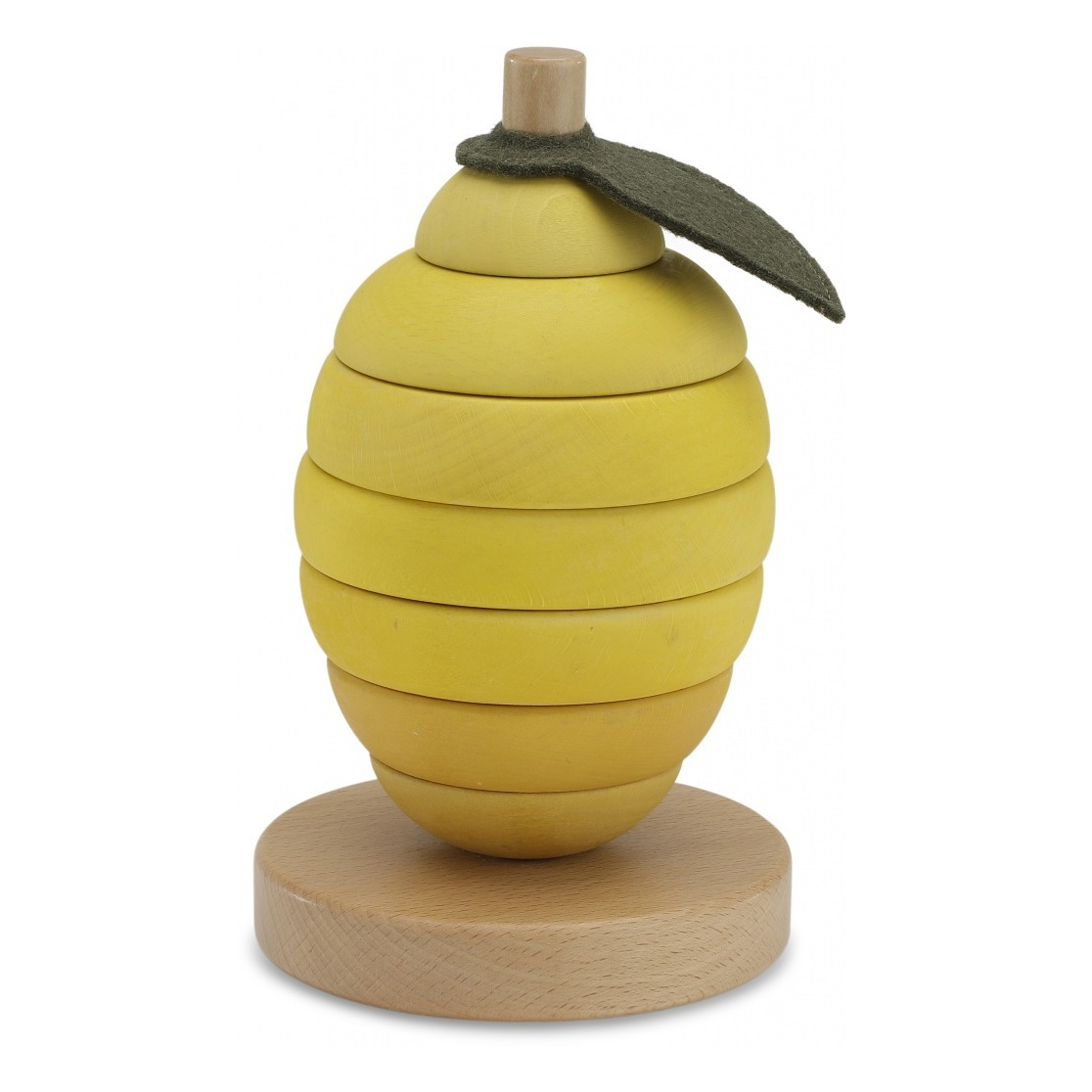 lemon-shaped-wooden-stacking-toy