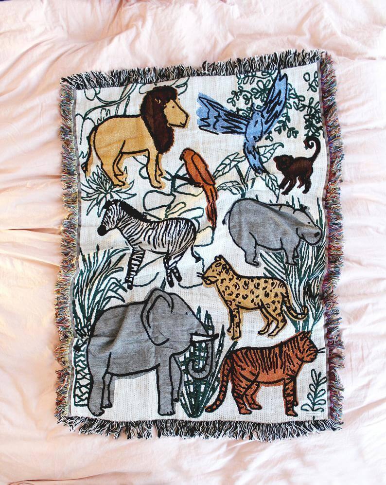 Calhoun & Co. baby blanket