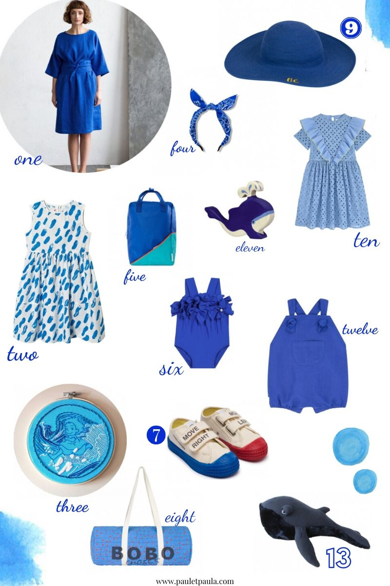 The electric blue edit!