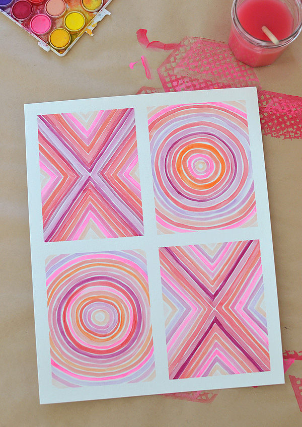 XOXO_painting-teen-diy