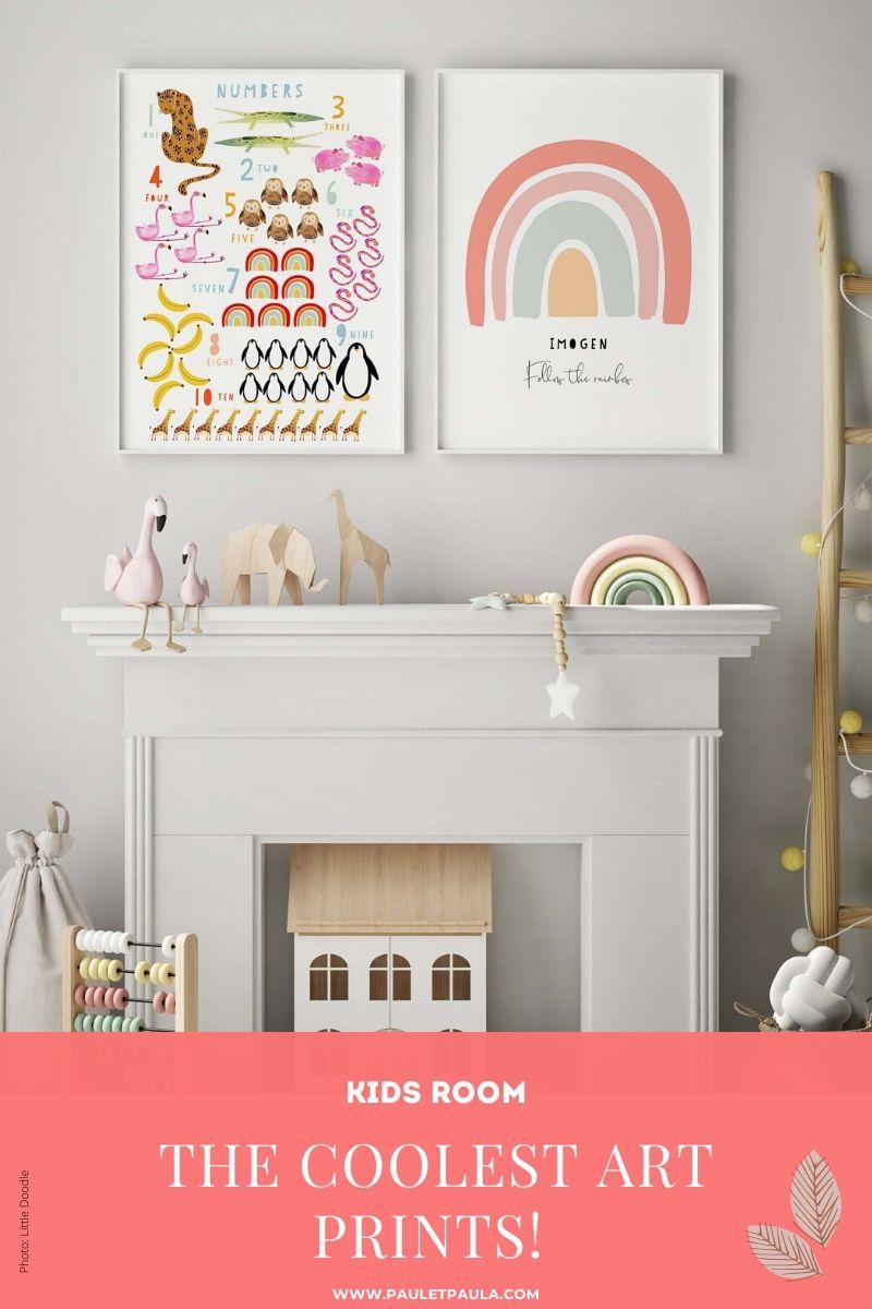 best art prints Kids Room