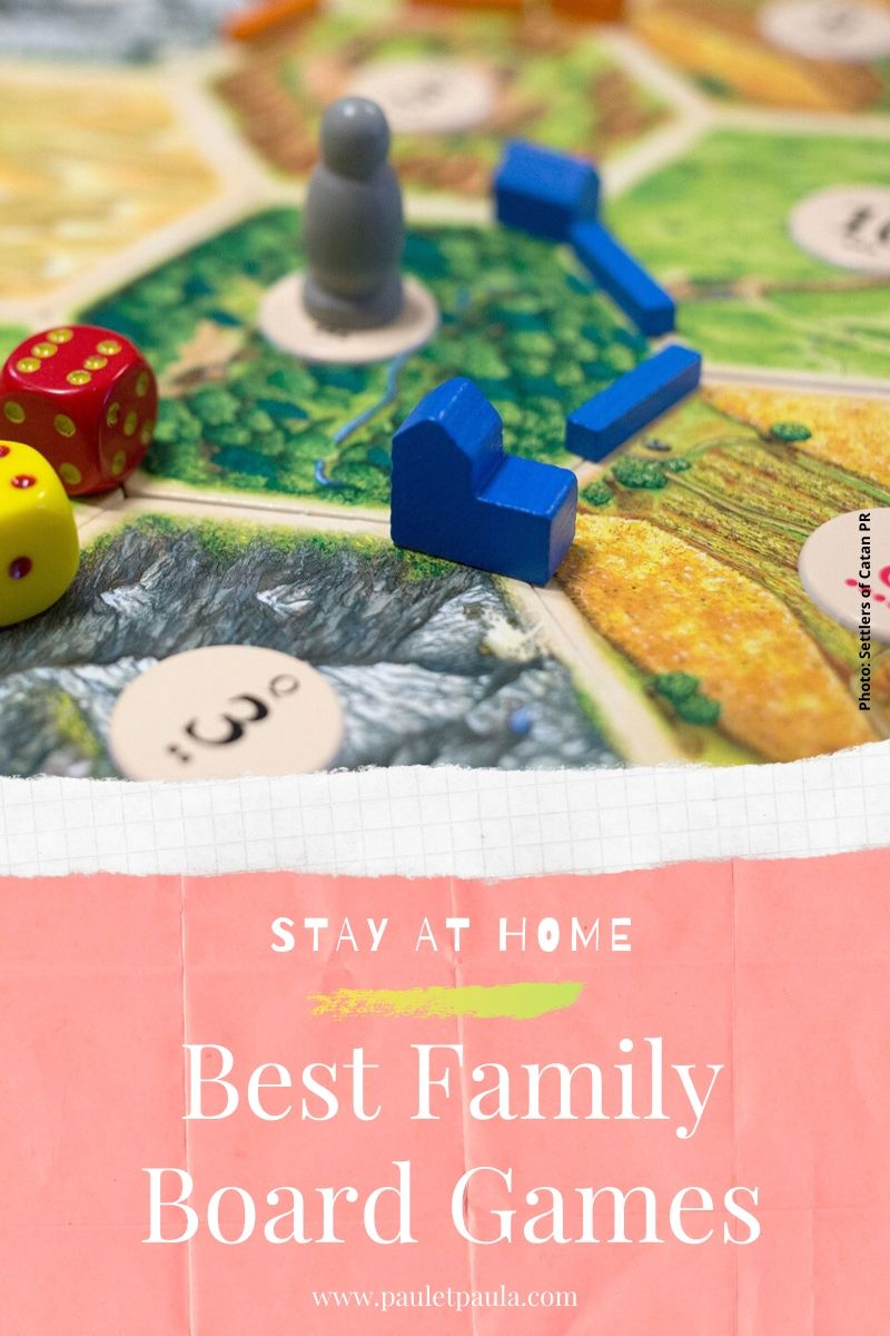 Stay at Home - the best family board games