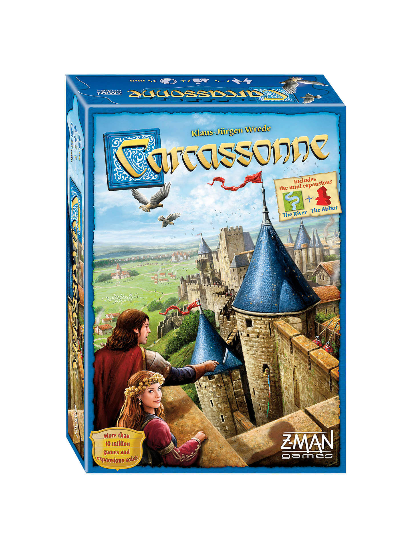 carcassone family board game